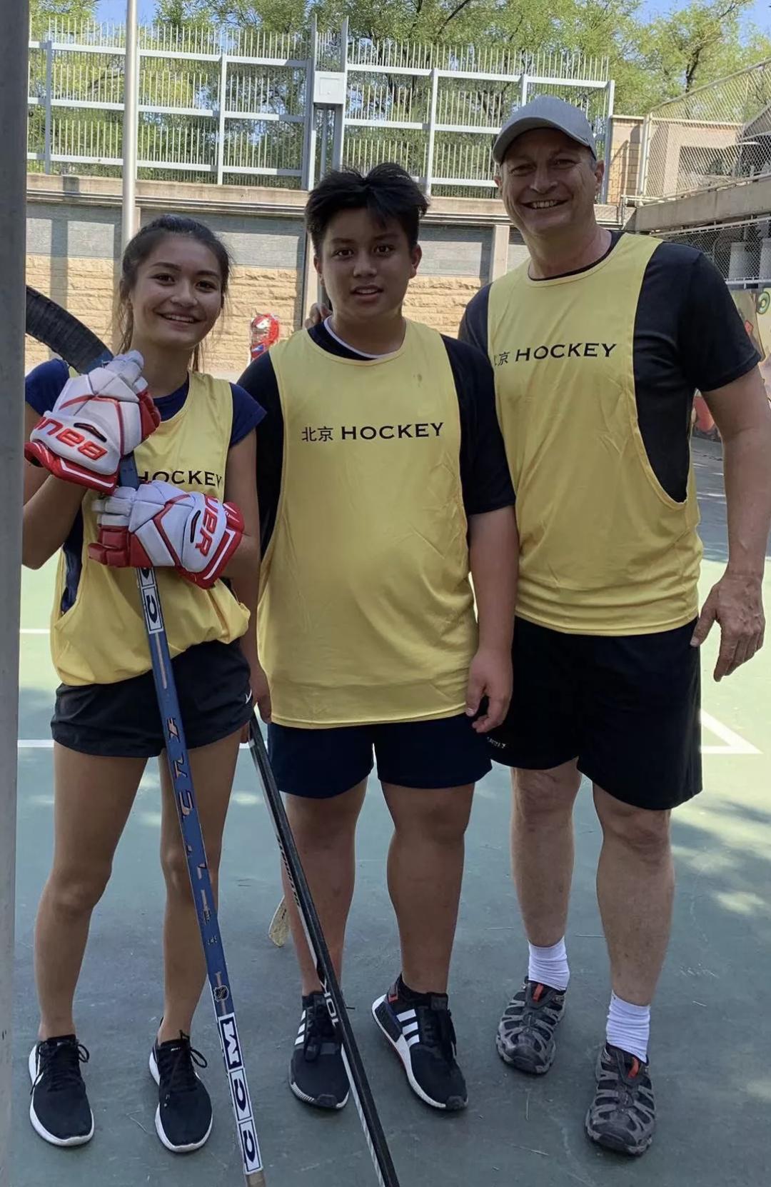 北京 Hockey Tournament Supports Charity for Blind Children